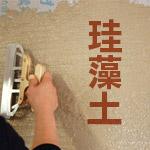 外壁塗装の珪藻土について